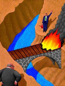 Burn Bridges