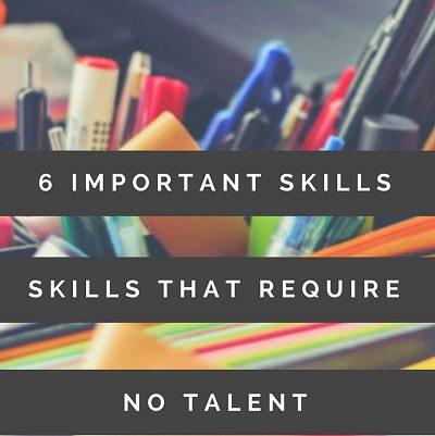 6 Important Skills No Mark – Copy