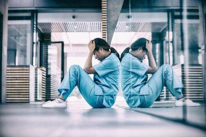 stressed nurse burnout selfcare