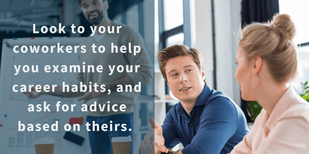 Great Consult Your Coworkers And Network